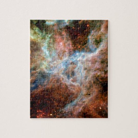 Tarantula Nebula R136 NASA Hubble Space Photo Jigsaw Puzzle