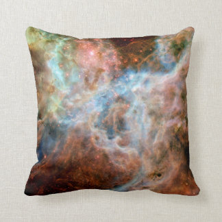 Tarantula Nebula R136 Throw Pillow