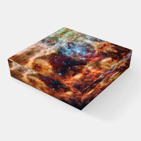 Tarantula Nebula Square Paperweight