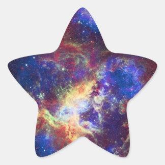 Tarantula Nebula Star Forming Gas Cloud Sculpture Star Sticker