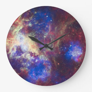 Tarantula Nebula Wall Clock