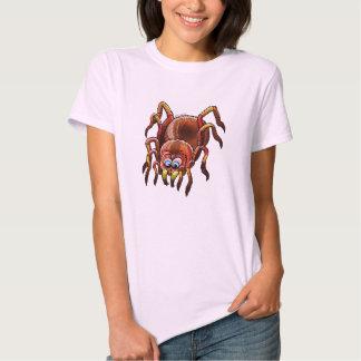 Tarantula Sinking its Fangs into Fresh Flesh T Shirt