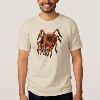 Tarantula Sinking its Fangs into Fresh Flesh Tee Shirt