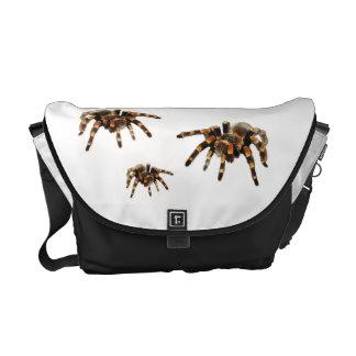 Tarantula spider messenger bag