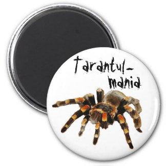Tarantula, tarantul-mania, spider 2 inch round magnet