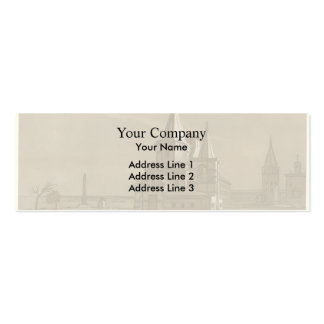 Taras Shevchenko- Archangel Cathedral in Nizhny Double-Sided Mini Business Cards (Pack Of 20)