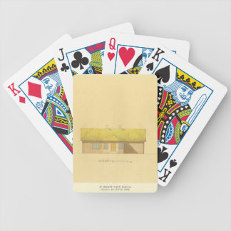 Taras Shevchenko-Architectural project of a house Bicycle Card Deck