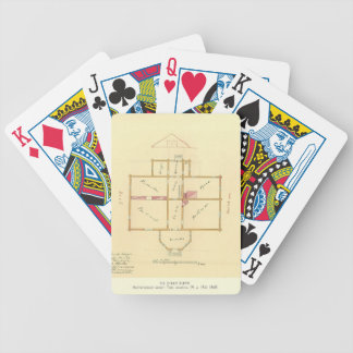 Taras Shevchenko- Architectural project of house Bicycle Card Decks