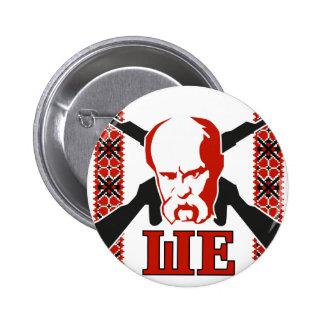 Taras Shevchenko Pinback Buttons