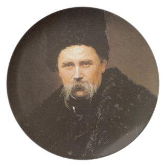 Taras Shevchenko Ukrainian Plate