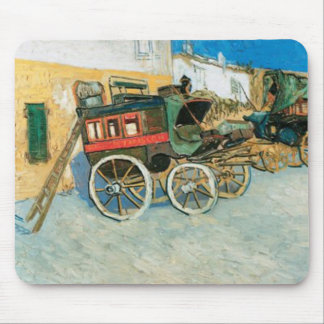Tarascon Dilgence by Vincent van Gogh Mouse Pad