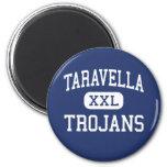 Taravella - Trojans - High - Coral Springs Florida Fridge Magnets