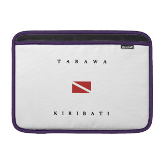 Tarawa Kiribati Scuba Dive Flag MacBook Sleeve