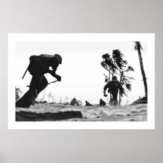 Tarawa Sand Poster