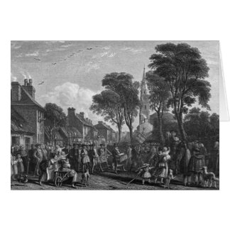 Tarbolton, Procession of St.James' Lodge, 1846 Card