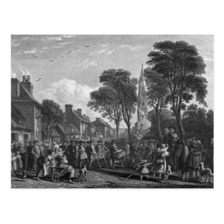 Tarbolton, Procession of St.James' Lodge, 1846 Postcard