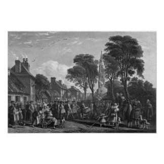Tarbolton, Procession of St.James' Lodge, 1846 Poster