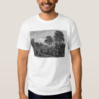 Tarbolton, Procession of St.James' Lodge, 1846 Tee Shirt