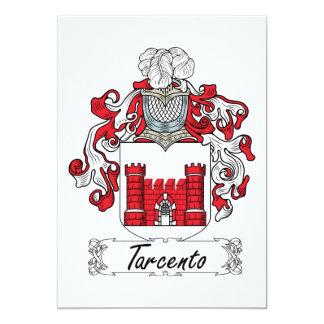 Tarcento Family Crest Card