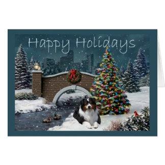 Tarde australiana de la tarjeta de Navidad del pas