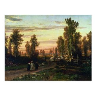 Tarde de Fyodor Vasilyev- Tarjetas Postales