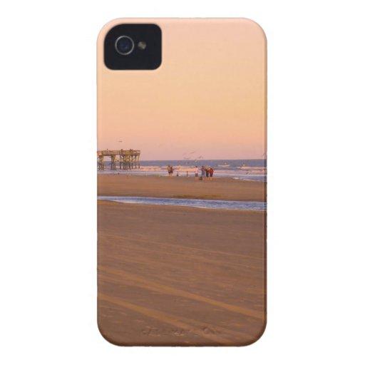 Tarde de Rosey en la isla de palmas iPhone 4 Case-Mate Coberturas