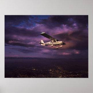 Tarde de Skycatcher Póster
