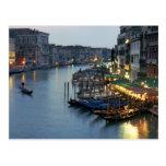 Tarde de Venecia - Gran Canal Tarjeta Postal