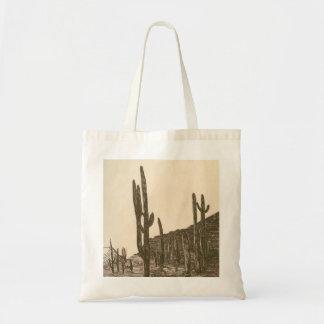 Tarde del desierto bolsa de mano