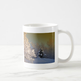 Tarde del invierno taza clásica