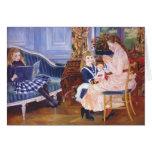 Tarde del ` s de los niños de Pedro Renoir- en War Tarjetón