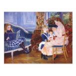 Tarde del ` s de los niños de Pedro Renoir- en War Postales