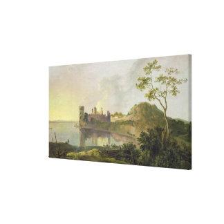 Tarde del verano (castillo) de Caernarvon c.1764-6 Lona Estirada Galerías