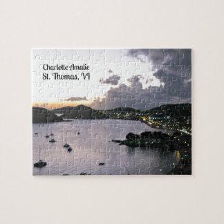 Tarde en Charlotte Amalie, St Thomas VI Rompecabeza Con Fotos