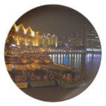 Tarde en Clarke Quay en Singapur