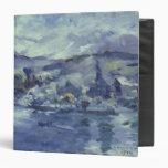"Tarde en el lago Alfalfa, 1924 Carpeta 1 1/2"""