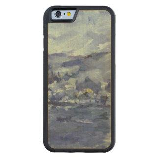 Tarde en el lago Alfalfa, 1924 Funda De iPhone 6 Bumper Arce