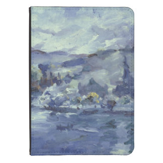 Tarde en el lago Alfalfa, 1924 Funda Para Kindle