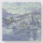 Tarde en el lago Alfalfa, 1924 Posavasos De Piedra