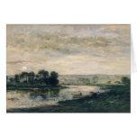 Tarde en el Oise, 1872 Tarjeton