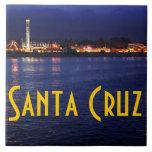 Tarde en el paseo marítimo de Santa Cruz Tejas Ceramicas
