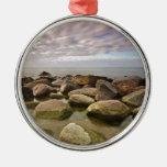 Tarde en la orilla del mar Báltico Ornamento Para Reyes Magos
