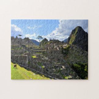 Tarde en Machu Picchu, Perú Puzzles Con Fotos