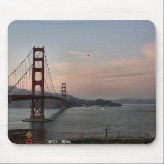 Tarde en puente Golden Gate Tapete De Ratón