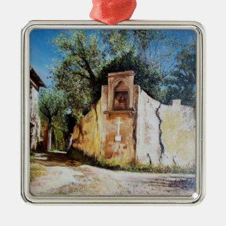 TARDE EN RIMAGGIO/la opinión de Toscana Ornamento De Navidad