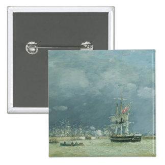 Tarde, Le Havre, 1866 (aceite en lona) Pins