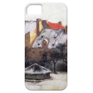 Tarde Munich vieja del invierno de T.C. Steele Funda Para iPhone SE/5/5s