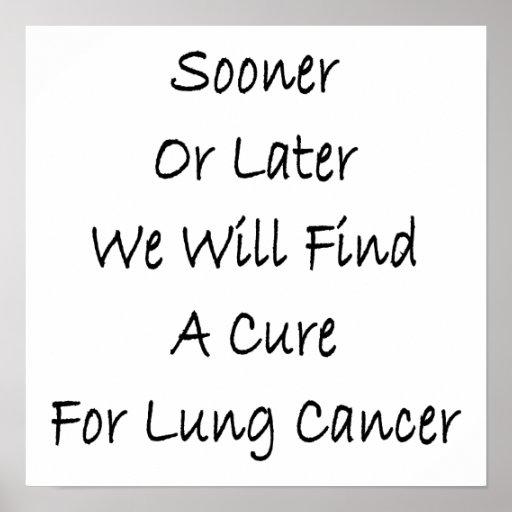 Tarde o temprano encontraremos una curación para e posters