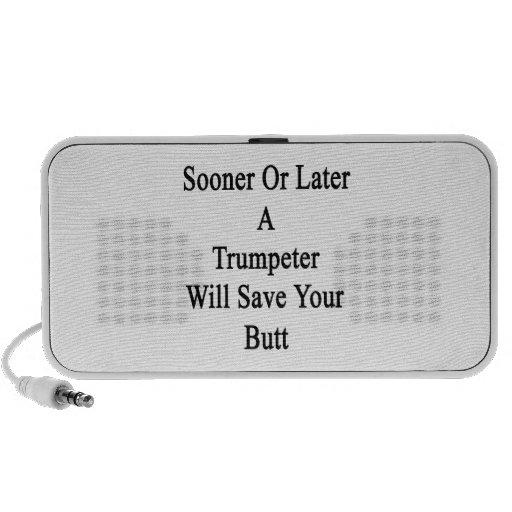 Tarde o temprano un trompetista ahorrará su extrem iPhone altavoz