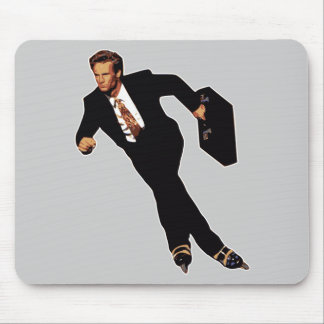 Tarde para el patinador Meme del Rollerblade del n Tapete De Raton